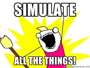 simulate all the things